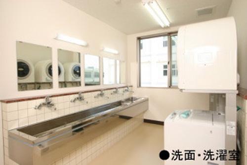 熊野の里洗面・洗濯室写真